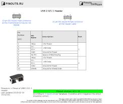 usb 2 0 1 1 header pinout diagram pinoutguide com usb 2 0 1 1 header diagram