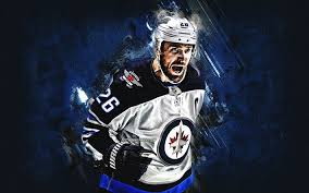 If you're looking for the best winnipeg jets wallpaper then wallpapertag is the place to be. Download Wallpapers Blake Wheeler Winnipeg Jets Portrait American Hockey Player Striker Nhl Blue Stone Background Hockey Usa For Desktop Free Pictures For Desktop Free