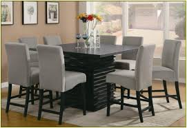 Modern Kitchen Tables Sets Kitchen Table With Chairs These In Black For Either Bar Stools Or