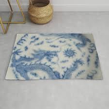 damask vintage monaco blue white girly ginger jar fl antique chinese dragon chinoiserie china rug