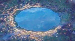 「糸守湖」の画像検索結果