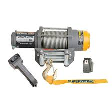 can am terra superwinch includes wiring kit