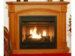 kensington oak dual fuel fireplace