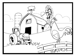 Farm Coloring Pages Page Funf Pandroid Co Ayushseminarmahainfo