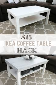 Short end table Wayfair Ikea Lack Coffee Table Hack Great Idea Thursdays Pinterest Pertaining To Magnificent Short End Table Policychoicesorg Ikea Lack Coffee Table Hack Great Idea Thursdays Pinterest