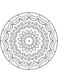 Kleurplaat Mandala Kleurplaten 5087 Kleurplaten