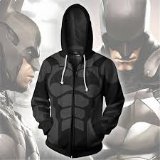 <b>2019</b> New <b>Men</b> Women Hooded Batman Zip Up <b>Hoodie 3d</b> Printed ...