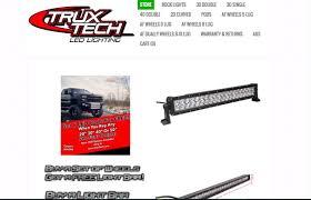 Truxtech Light Bar Truxtech Carsponsors Com