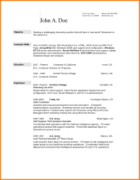 10 Example Computer Science Resume Precis Format