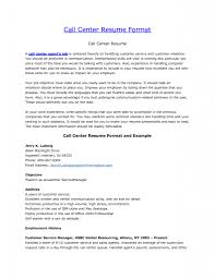 projects idea of call center resume skills  call manager sample
