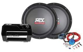 Bass Package Thunder 600w Amplifier 15