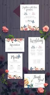 Wedding Invitation Set Templates Celebrate It Occasions Wedding Invitations Templates Rose Invitation