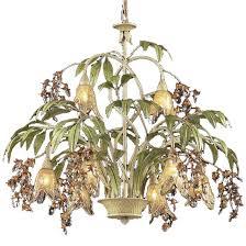 elk 86054 huarco rustic 8 light chandelier loading zoom