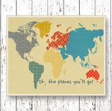 print oh the places you ll go dr seuss quote family room playroom kids wall art world map blue orange yellow bedroom art for children by lilchipie on  on dr seuss oh the places youll go wall art with print oh the places you ll go dr seuss quote family room