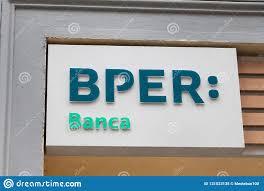 Bper Banca Logo On Bper Banca Bank Office Editorial Image ...