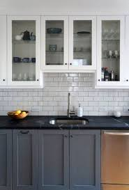 gray cabinets with black countertops coryc me