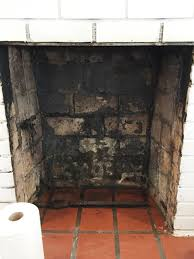 after how to clean a fireplace firebox thediybungalow com