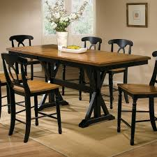Bar Height Kitchen Table Set Tall Dining Table Height Concepts Unfinished Square Counter
