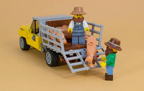 Lego Pick-Up Truck | THE LEGO CAR BLOG