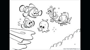 Coloring Pages Nemo Finding And Crush Coloring Pages For Kids