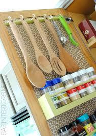 Kitchen Cupboard Storage Interior Pantry Door Shelf Organizer With Kitchen Cabinet Tray