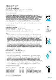 Student Resume Dayjob Medical Assistant Resume Samples Medical Field Resume Medical