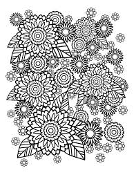 step 1 creating the initial flower pattern