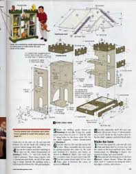 House Plan Vintage Woman's Day Dollhouse Plans General Mini Talk The ...  Castle Doll ...