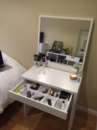 13 Fun DIY Makeup Organizer Ideas For Proper Storage | Ikea desk ...