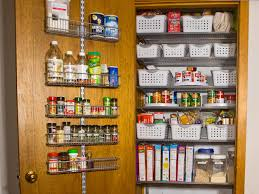 Kitchen Pantry Organization Pantry Door Rack Organizer Pictures Options Tips Ideas Hgtv