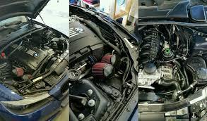 vrsf stainless steel high flow inlet intake kit n54 07 10 bmw 335i 08