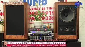 Loa Tannoy V12 lên Bộ Dàn Karaoke Cực Đẹp/ Giá bình dân/ Tiki audio  0923024999 / 0378938999 - YouTube