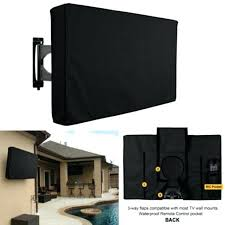 screen cover black outdoor no and dust resistant out door tv covers fits over most waterproof outdoor covers with a directional inch out door tv