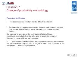 Economics Of Climate Change Adaptation Training Session 7