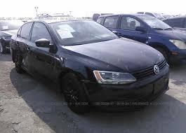 volkswagen jetta black 2014. x2 2014 volkswagen jetta 3vw2k7aj3em398499 black