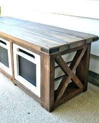deck storage bench plans ideas pool best with on in
