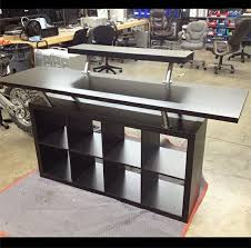 sound system table. replace the decks table with this in steve\u0027s music room dj booth made from ikea parts. sound system a