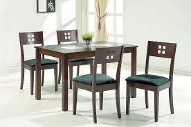 Wood And Glass Top Modern Furniture Table Set Modern Dining Tables