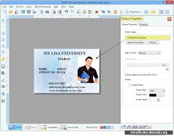 Software Colorful And Cards Id Design Card Looking Professional Generates