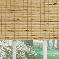 Levolor Natural Bamboo Light Filtering Bamboo Natural Roman Shade (Common  30-in; Actual