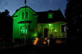 spooky lighting. Green Halloween Lights Decorations By Giantmonster Spooky Lighting
