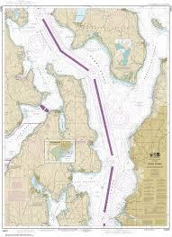 18473 Oak Bay To Shilshole Bay Puget Sound Nautical Chart
