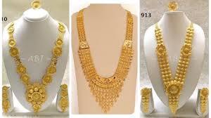 Dubai Gold Designs Online Latest Gold Necklace Designs In Dubai Gold Jewellery Pattern Jewel Fashion