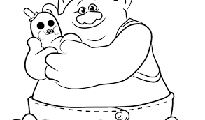 Fresh Free Troll Colouring Pages Trolls And Fairies Free Coloring Book