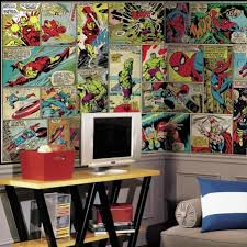 Marvel Characters Wall Mural: A gift for comic fans