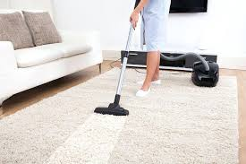 dry clean carpet at home