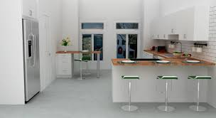 Kitchen Island Color Mint Blue Paint Wall Color L Shaped Kitchen Design With Island And