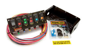 search results painless performance 6 switch fused panel w all necessary wiring hardware by painless performance products