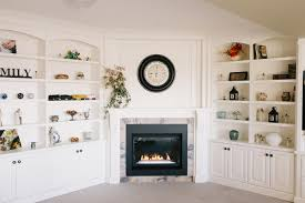 Living Room Built Ins Fireplace Mantle And Custom Living Room Built Ins