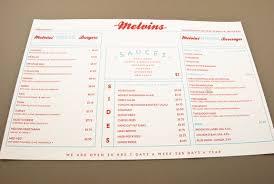 Old-Fashioned Diner Menu Template Sample | Inkd | 50's Diner Party ...